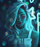 Episode 12 - Neon star by AngelGanev