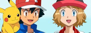 Ash I believe you. Serena by Spartandragon12