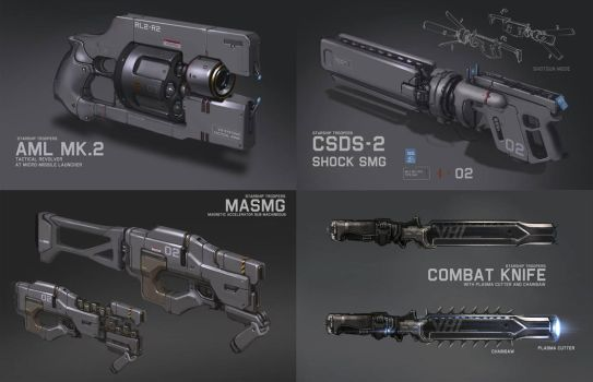 Weapon Design by ProgV