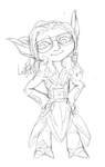 Gw2 Sketch Ralf by Leafjelly