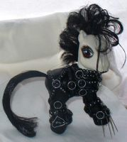 Edward Scissor Hands Pony by mayanbutterfly