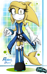 New look of Perlin The Dolphin by kalisami