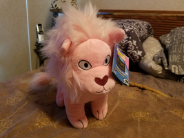 SU 12' Pink Lion Plush From HotTopic by PrinceDuskstripe
