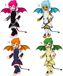 Chibi Incubus Adoptables by ApAtHeTIcBuNnY