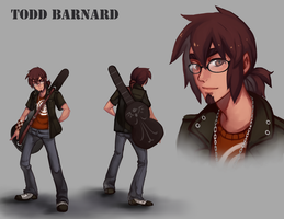 Todd Barnard Character Reference by BloodnSpice