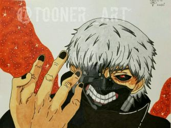 Kaneki Ken Finger Crack by toonerart