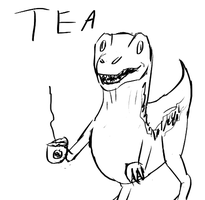 tea raptor by shook12