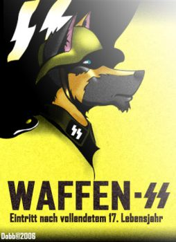 Waffen-SS Poster Remake by Dobb