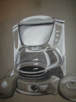 Still Life Coffee Maker by RedTigress