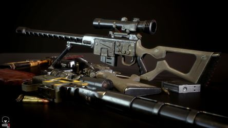 Fallout DKS-501 Sniper Rifle by Lt-Commander