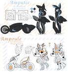 [REF] Amputee and Ampoule by Scootgami
