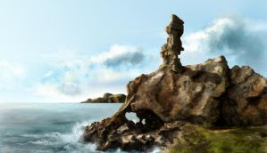 Monument Rock by Dusturn
