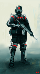 Future Soldier Concept by UniversalEverything