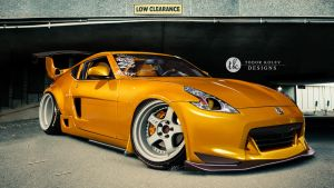 Nissan 370z by TKtuning