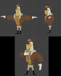 Launchpad McQuack 3D by BillyBuckaroo