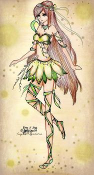 Wingless Fairy Fashion by JoyceCruz