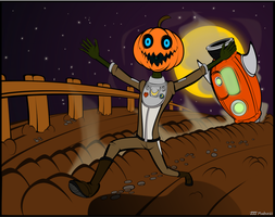 Pumpkins from Outer Space! by JJJMadness