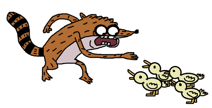 Rigby's Step Off by brianna5813