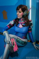 D.VA from Overwatch by lAmikol
