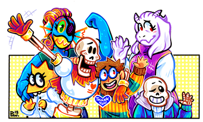 Undertale ask blog: End of an era by neonUFO