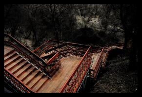 Hell Stairs by Cavin