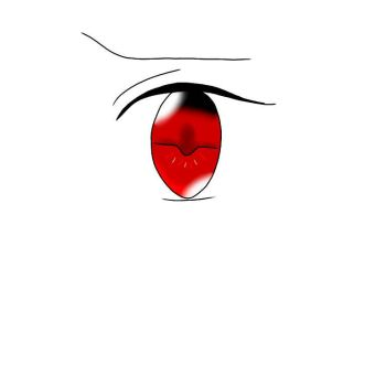 Maddison's eye. by Author-Chan11