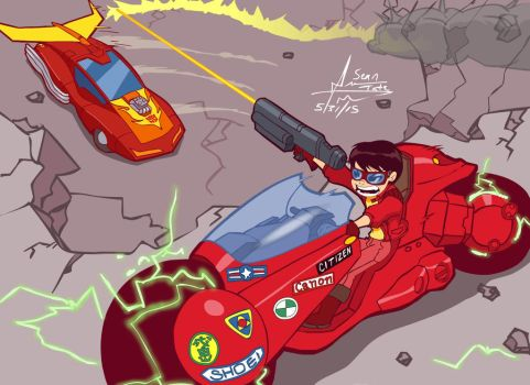 Keneda vs Hot Rod by GroundUpStudios