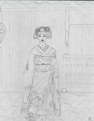 A young Maiko by EmpressofHeaven