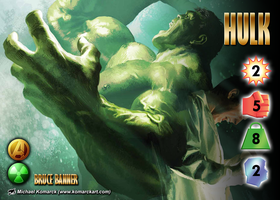 Hulk (Bruce Banner) Character by overpower-3rd