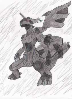 Zekrom (Traditional) by Rpshadow100