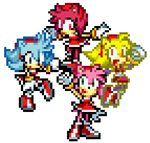 Amy transformations by RockMan6493