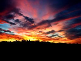 Colours in the sky II by aienmaa