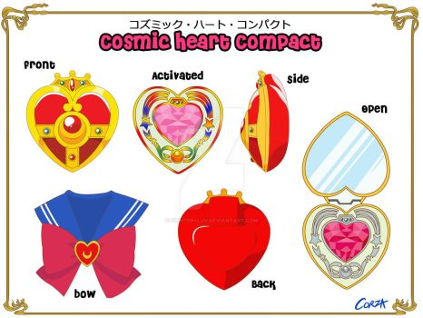 Cosmic Heart Compact (detailed) by Fighter4luv