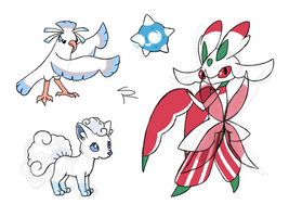 More Alola Pokemon Doodles