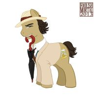Doctor Whooves Old School - McCoy by lissa-quon