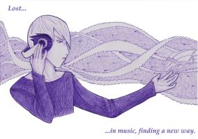 Lost in music by NAM-KE