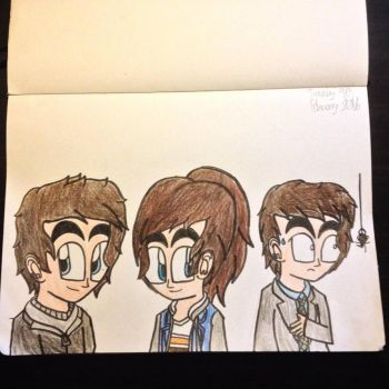 Characters in Goosebumps by Riyana2