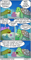 Eel and Turtle Part 2 by theodd1soutcomic