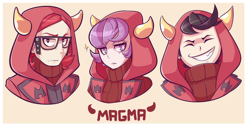 Magma And Horns by Kafei-Toytle