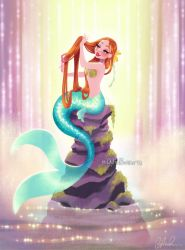 Mermaid in Her Lagoon by DylanBonner
