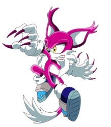 Ecky The Lynx : Sonic X Style by funkyjeremi