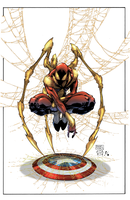 CivilWar Ironspidey by Javilaparra