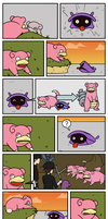 Slowpoke and Shellder by Immer