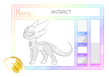 Aurillion approval sheet : Antarct by nutty-stardragon