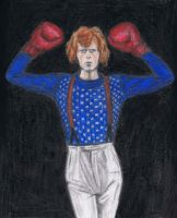 Boxer Bowie no guard by gagambo