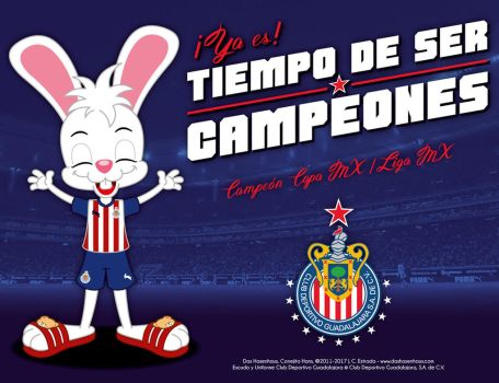 Time To Be Champions - Club Deportivo Guadalajara by bunnyfriend