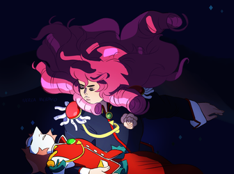 Revolutionary Girl Utena and Steven Universe by ohmygiddyaunt