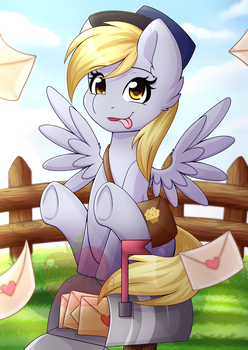 your mail is here! by Nana-Yuka