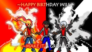 Happy Birthday Will [READ DESC] by ZutzuCrobat55