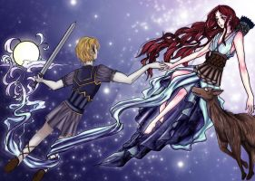 Orion's Ascension by airedhiel